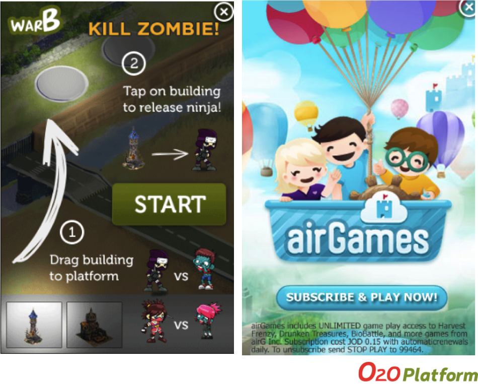 O2O Marketing: Engaging online customers through game ads