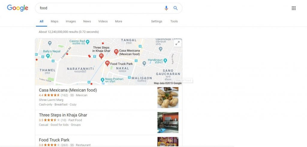 Google My Business (GMB): The