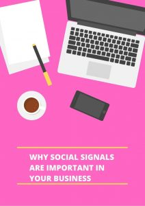 impact of social signals in seo