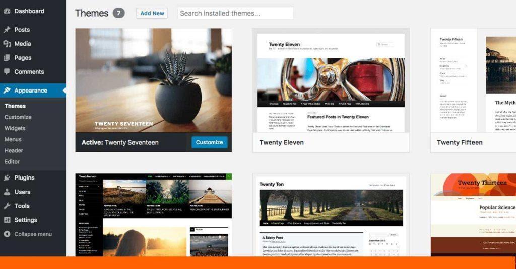 Official Website wordpress.org