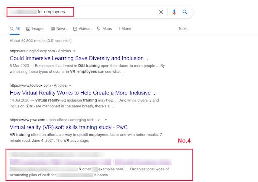 no 4 of page 1 google